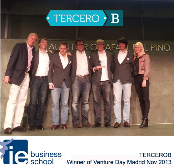 TERCEROB-Winner Venture Day-13Nov Madrid IE Business School