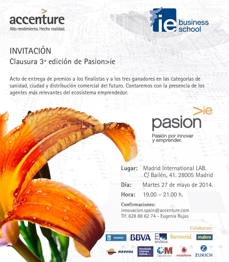 Invitacion clausura 3pasionie