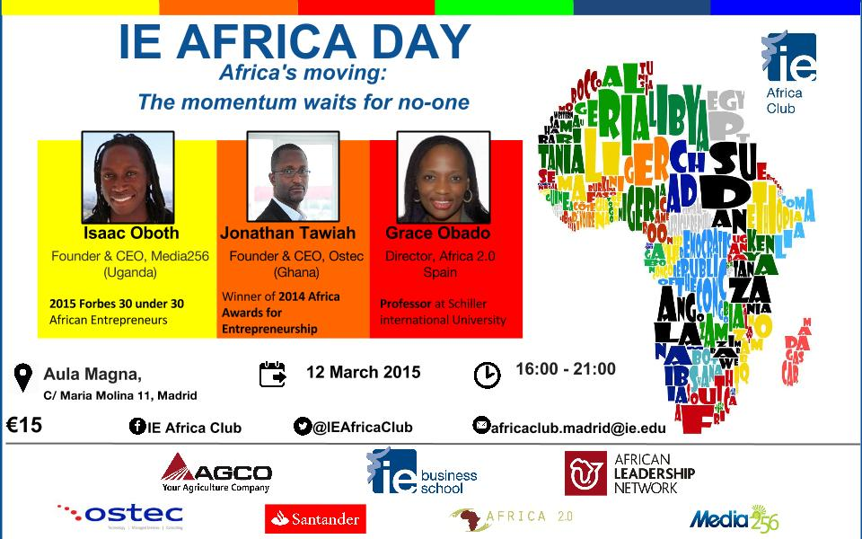 IE Africa Day - 1 pager with keynotes